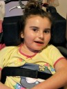 Rett Syndrome sufferer Sophie is being helped by Australian Children's Charity, I Give A Buck Foundation